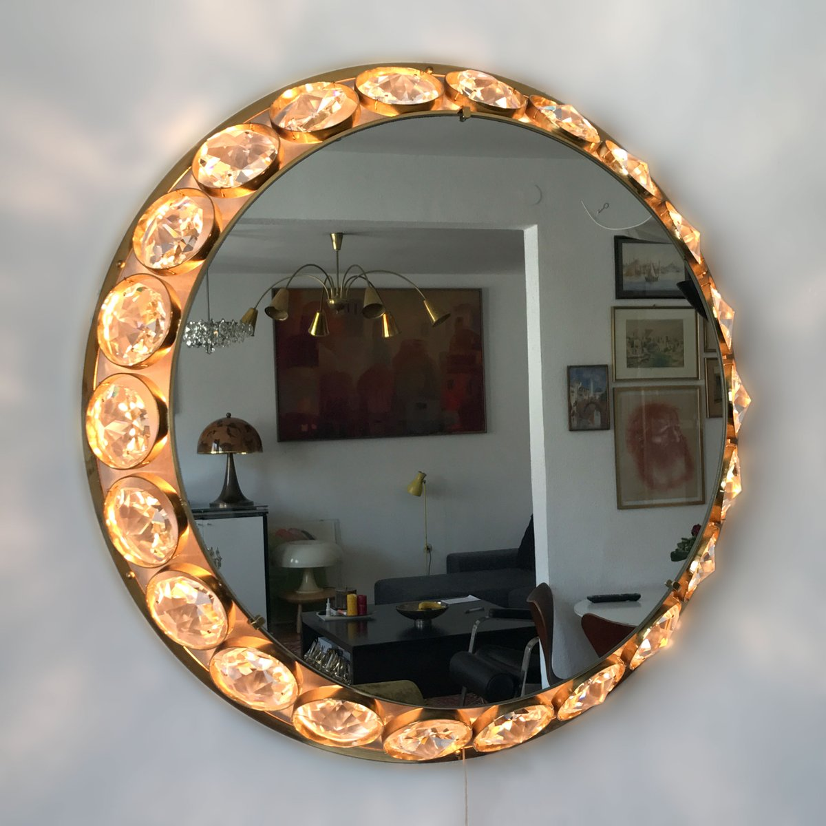 Catchy collections of crystal wall mirrors catchy homes interior crystal wall mirrors amipublicfo Image collections