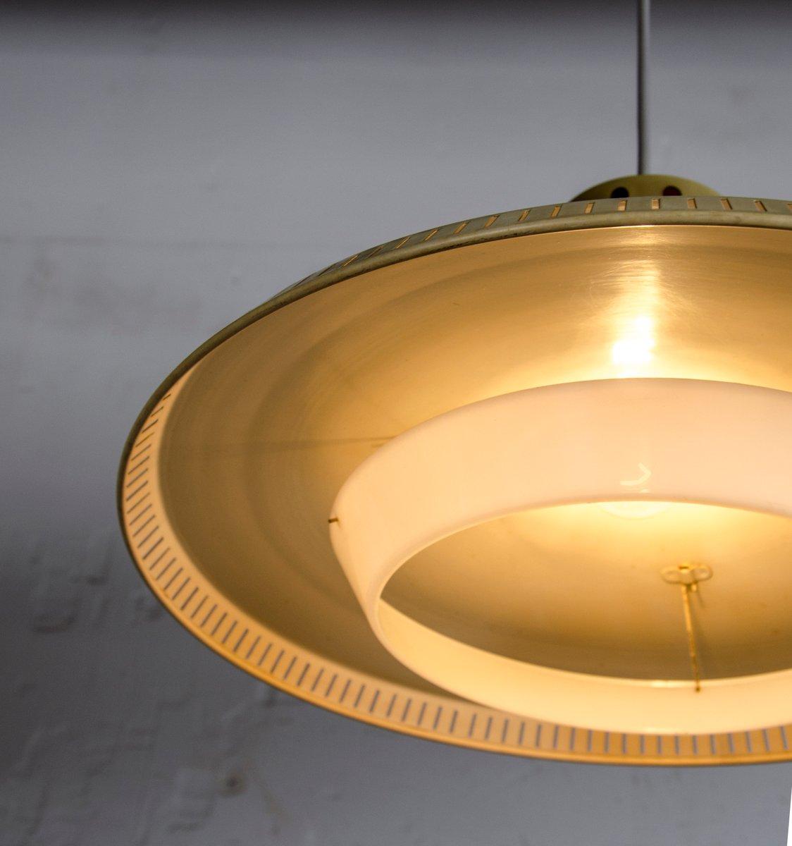 industrielle lampe von louis kalff f r philips 1950er bei pamono kaufen. Black Bedroom Furniture Sets. Home Design Ideas
