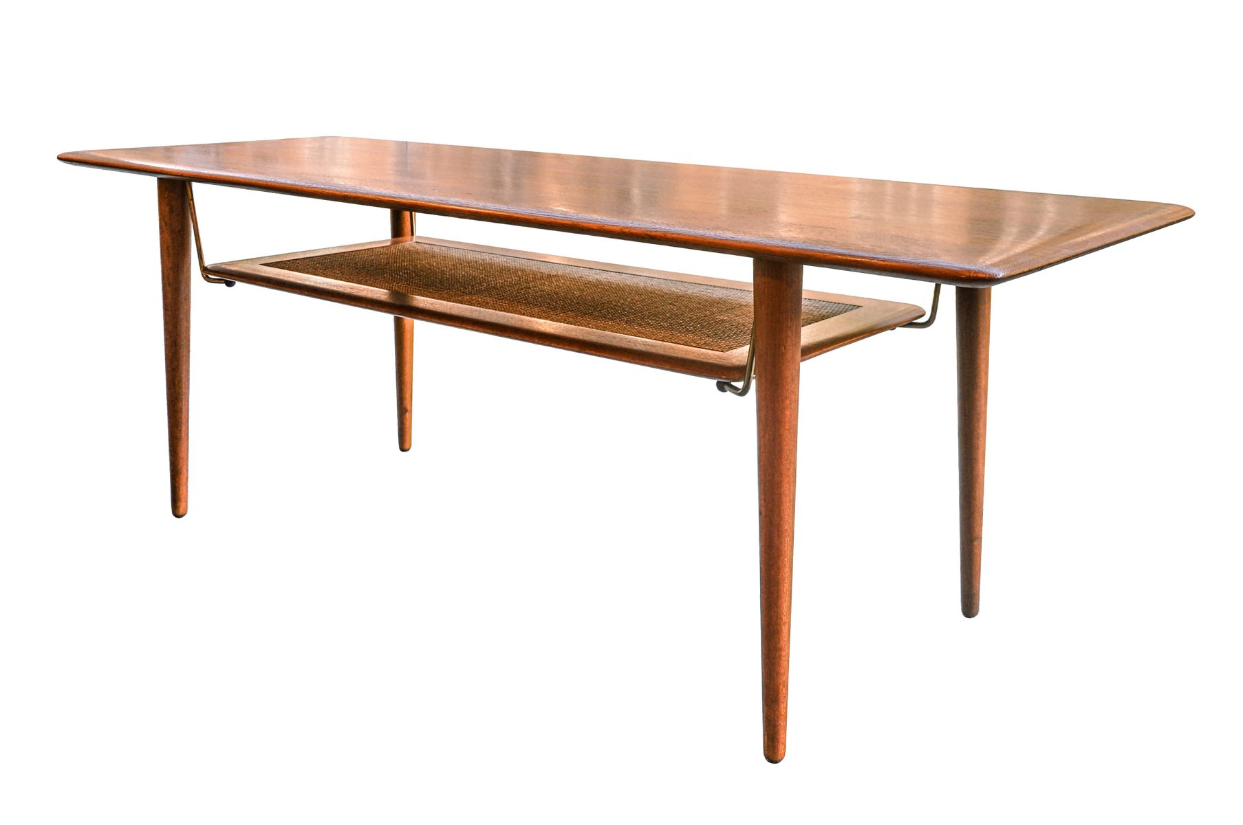 Model 516 Teak Coffee Table by Peter Hvidt & Orla M¸lgaard Nielsen