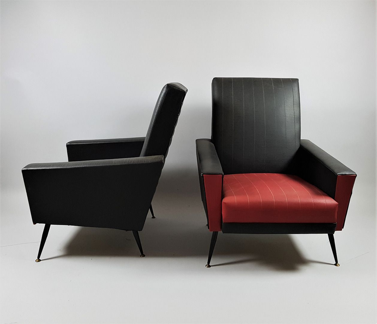 Mid century armchairs set of 2 for sale at pamono for 2 armchairs for sale
