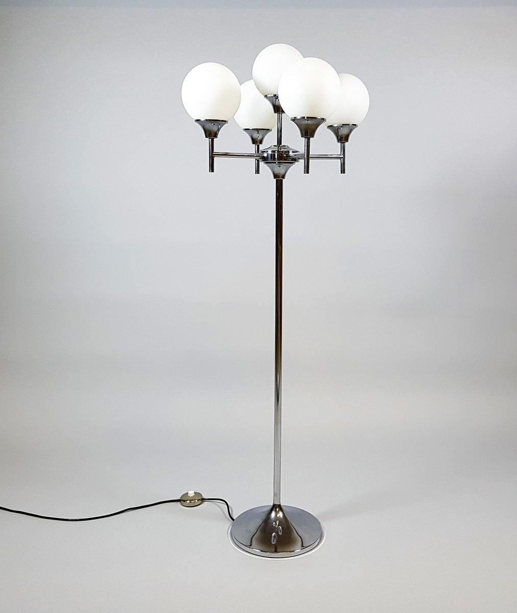 vintage space age floor lamp for sale at pamono. Black Bedroom Furniture Sets. Home Design Ideas