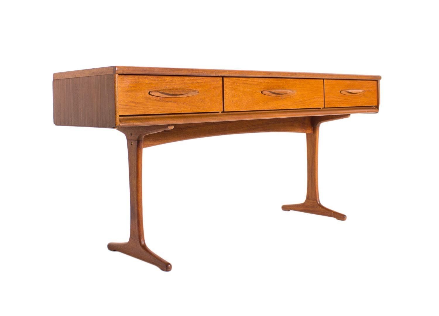 Vintage teak console table from austinsuite for sale at pamono vintage teak console table from austinsuite geotapseo Image collections