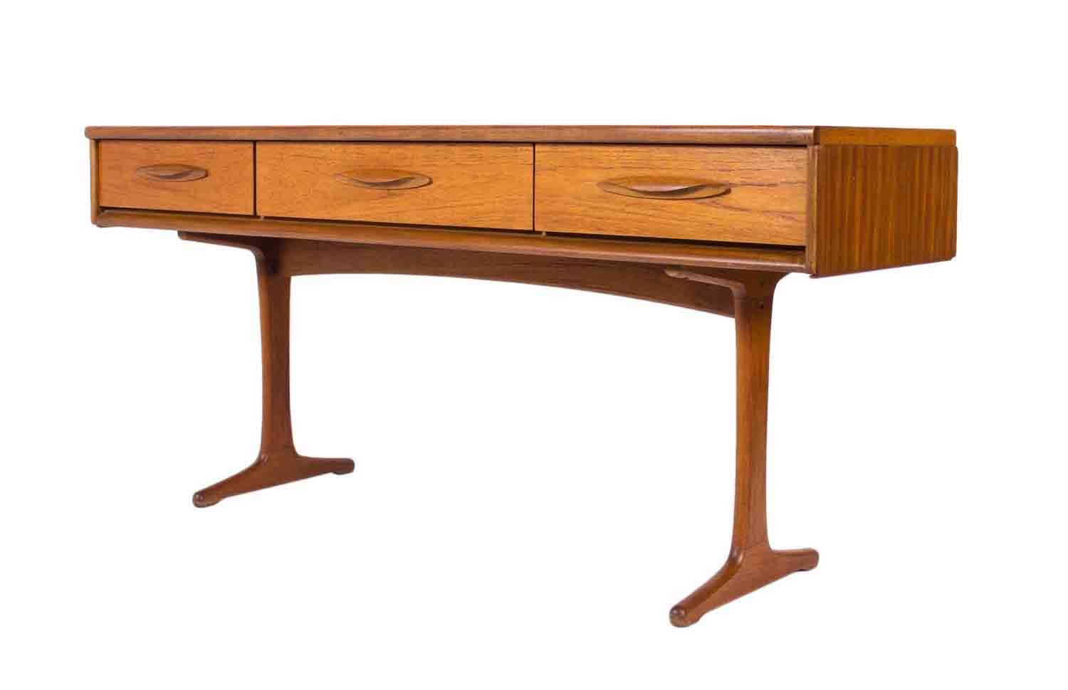Vintage Teak Console Table From Austinsuite For Sale At Pamono