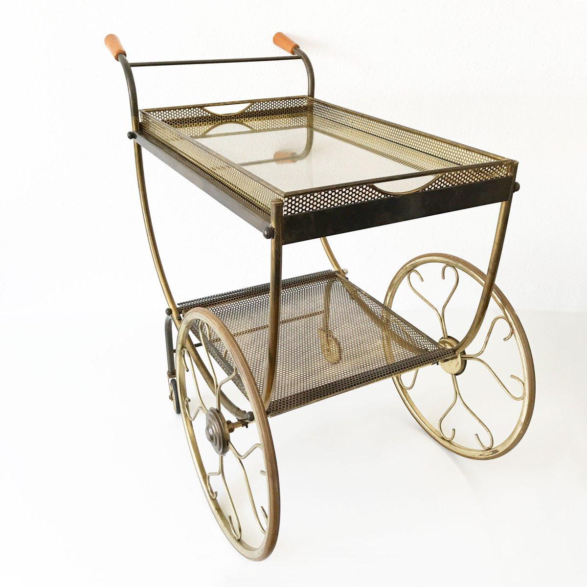 mid century modern bar cart by josef frank for svenskt. Black Bedroom Furniture Sets. Home Design Ideas