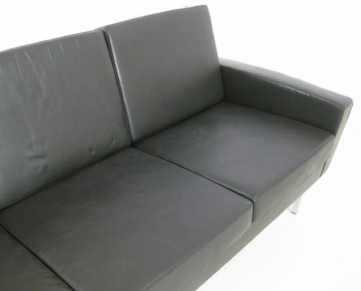 4 seater leather sofa 1960s for sale at pamono for Sofa 7 seater