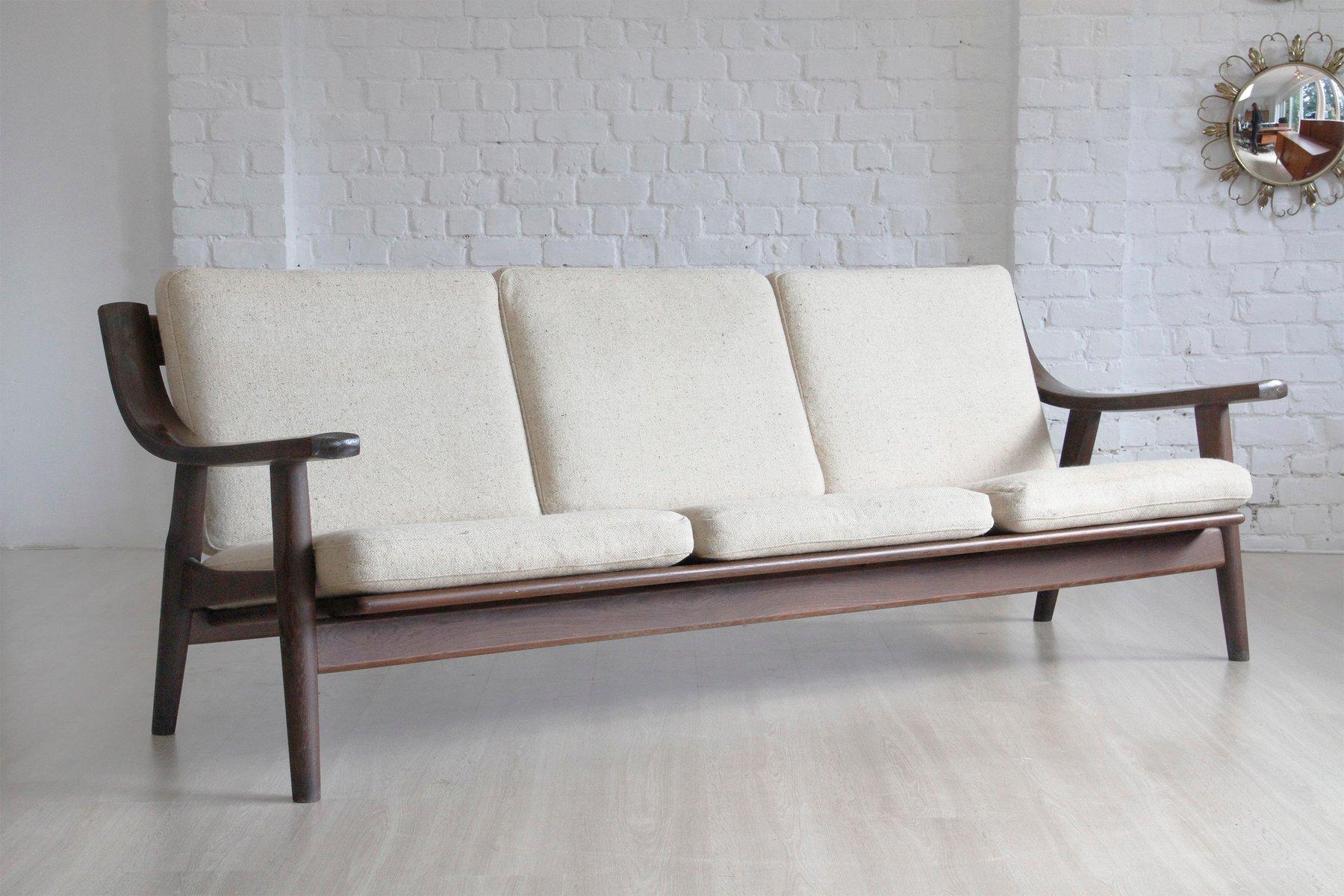 Ecksofa designklassiker  Vintage Modell GE-530/3 Sofa von Hans J. Wegner für Getama bei ...