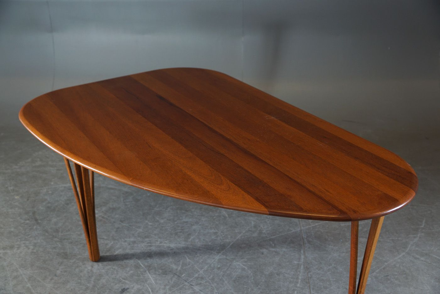 Teak Coffee Table From Haslev 1960s For Sale At Pamono