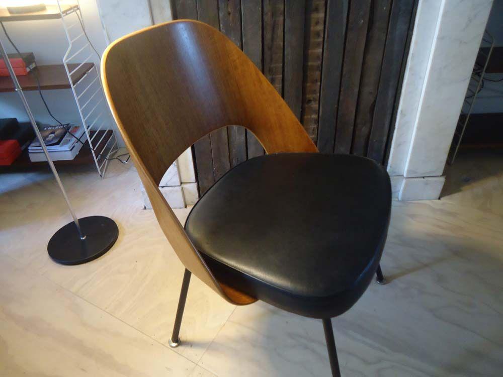 stuhl von eero saarinen f r knoll international 1960er bei pamono kaufen. Black Bedroom Furniture Sets. Home Design Ideas