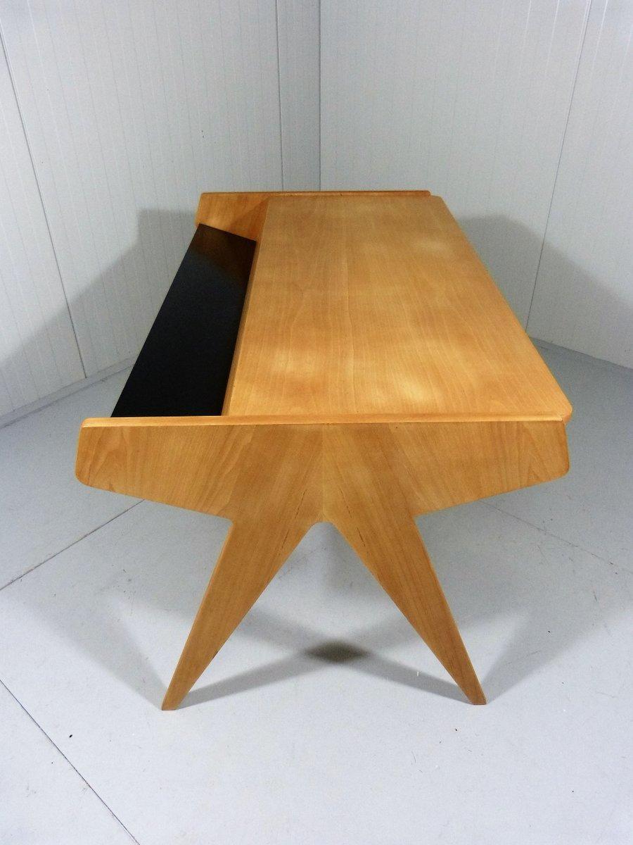 deutscher schreibtisch von helmut magg f r wk m bel 1960er bei pamono kaufen. Black Bedroom Furniture Sets. Home Design Ideas