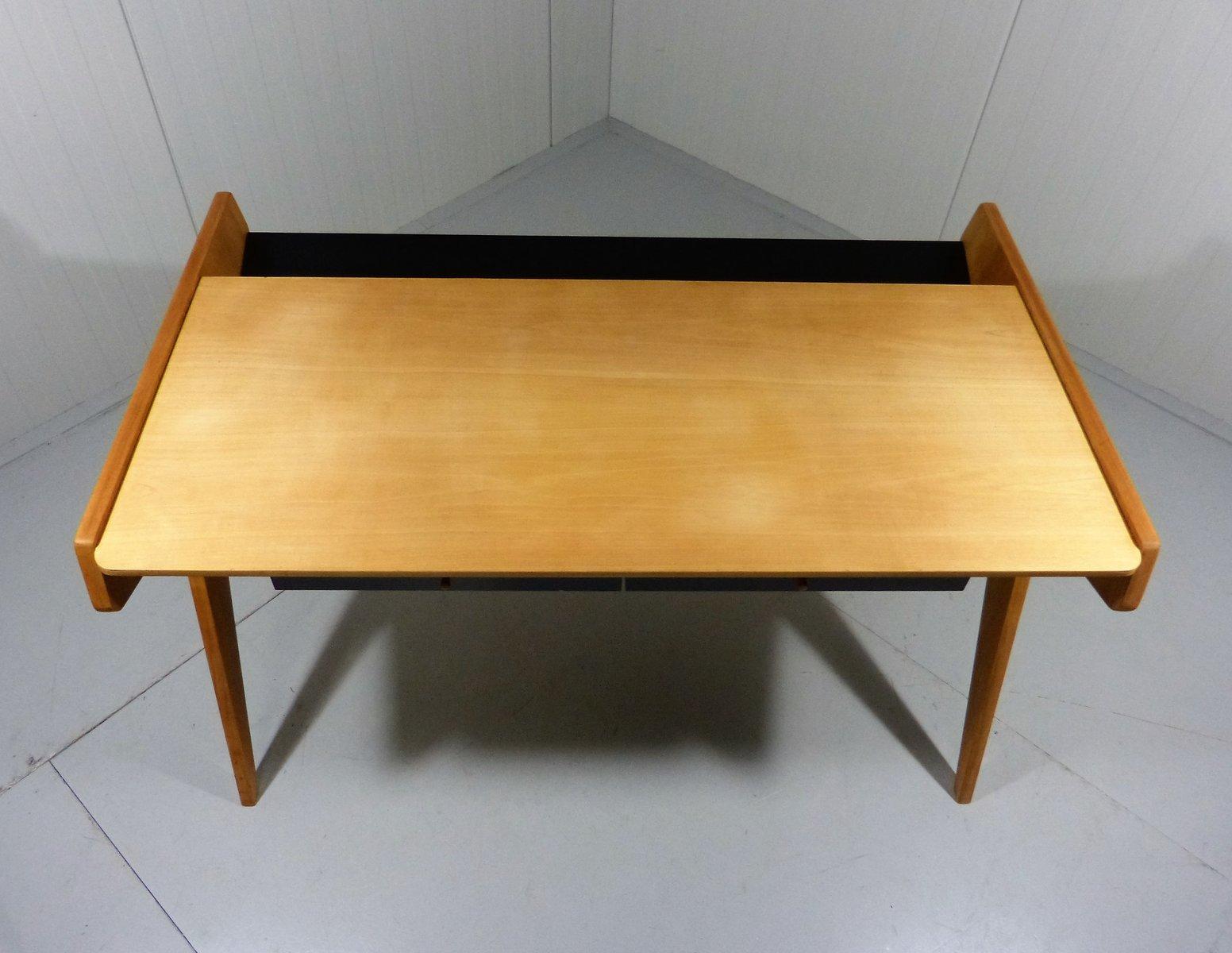 deutscher schreibtisch von helmut magg f r wk m bel. Black Bedroom Furniture Sets. Home Design Ideas
