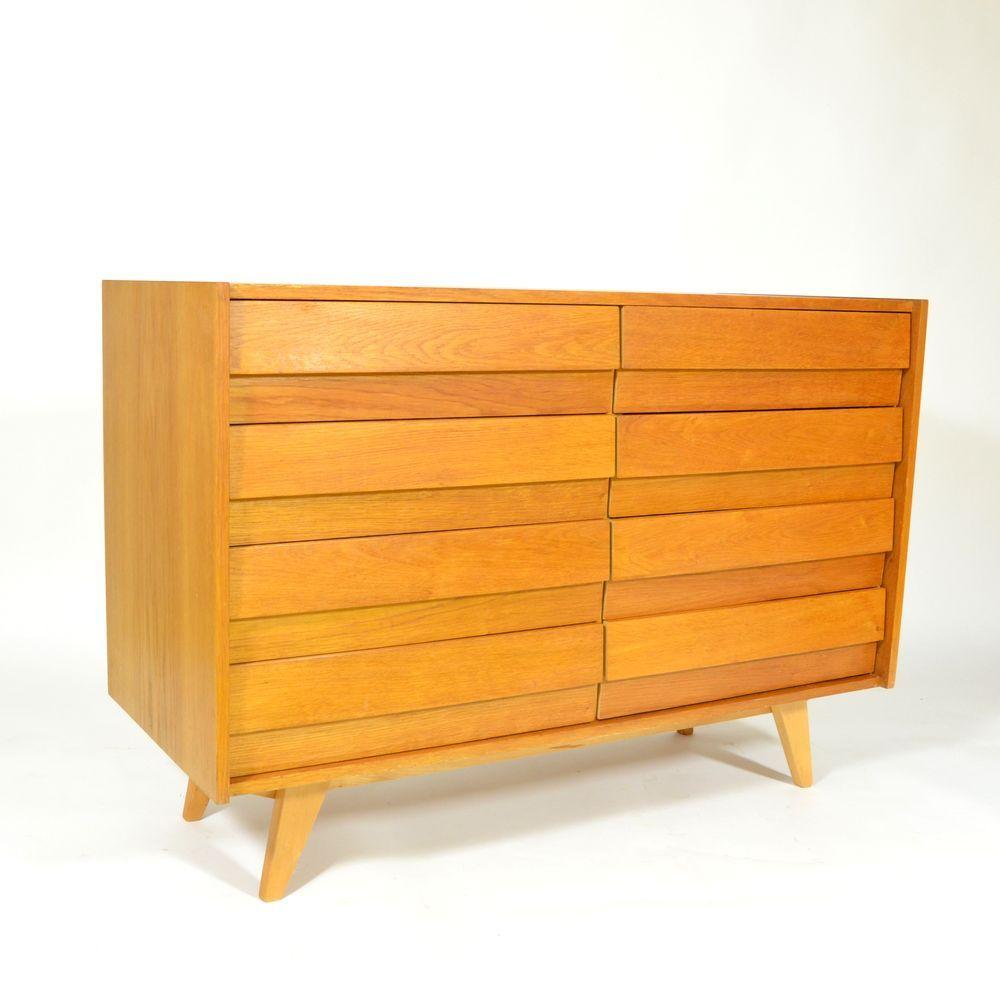 mid century kommode von jiri jiroutek f r interier praha bei pamono kaufen. Black Bedroom Furniture Sets. Home Design Ideas