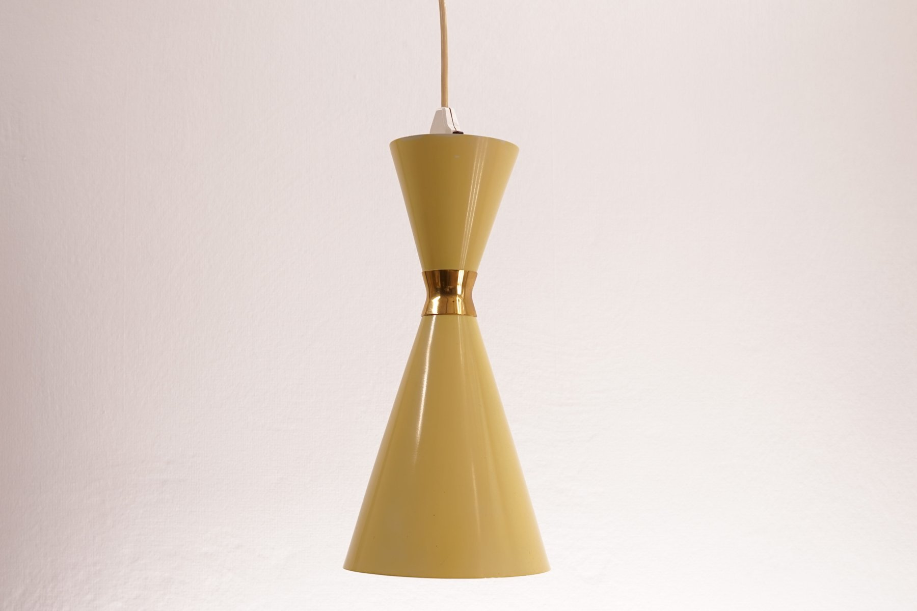 Mid century diabolo ceiling lamp for sale at pamono for Mid century ceiling lamp