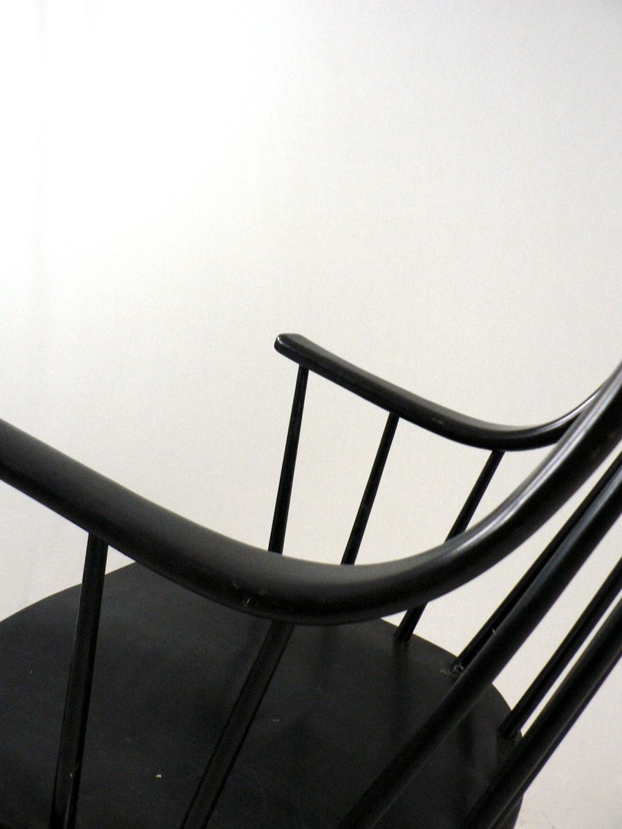 Scandinavian grandessa rocking chair by lena larsson for nesto 1960s for sale at pamono - Scandinavian chair ...