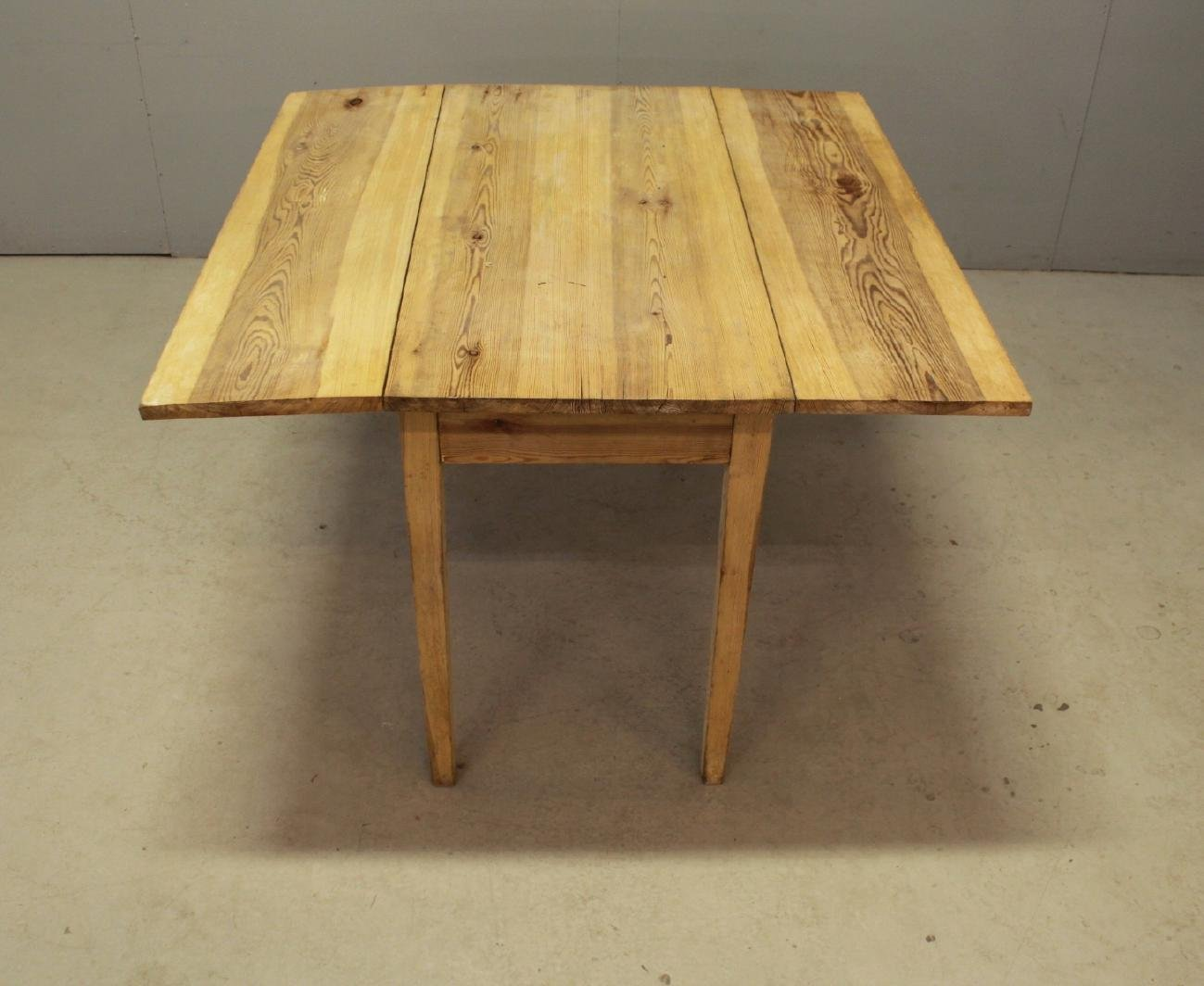 Drop Leaf Tables For Sale Part - 36: Swedish Vintage Drop-Leaf Table In Pine
