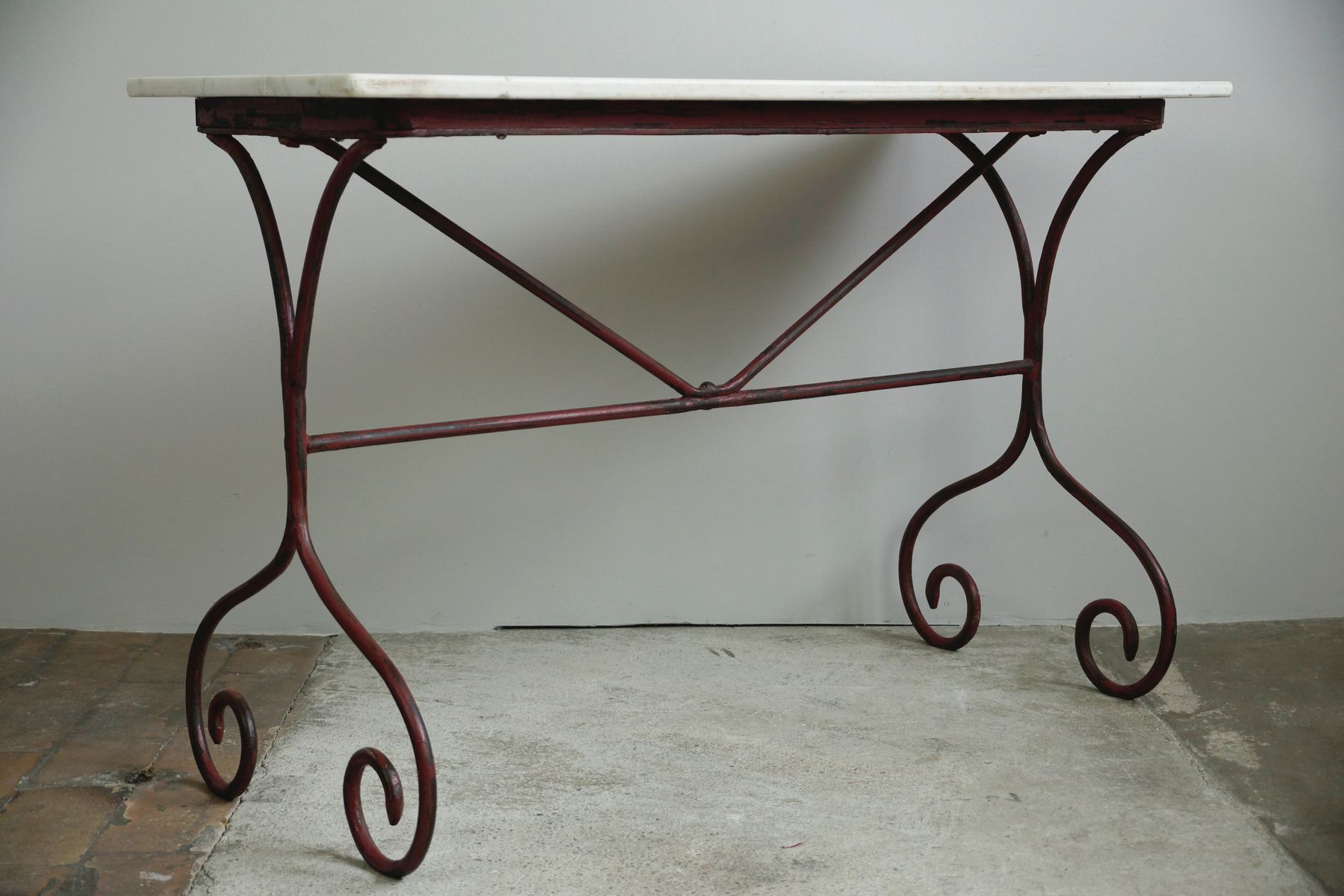 Vintage French Garden Table 1890s for sale at Pamono