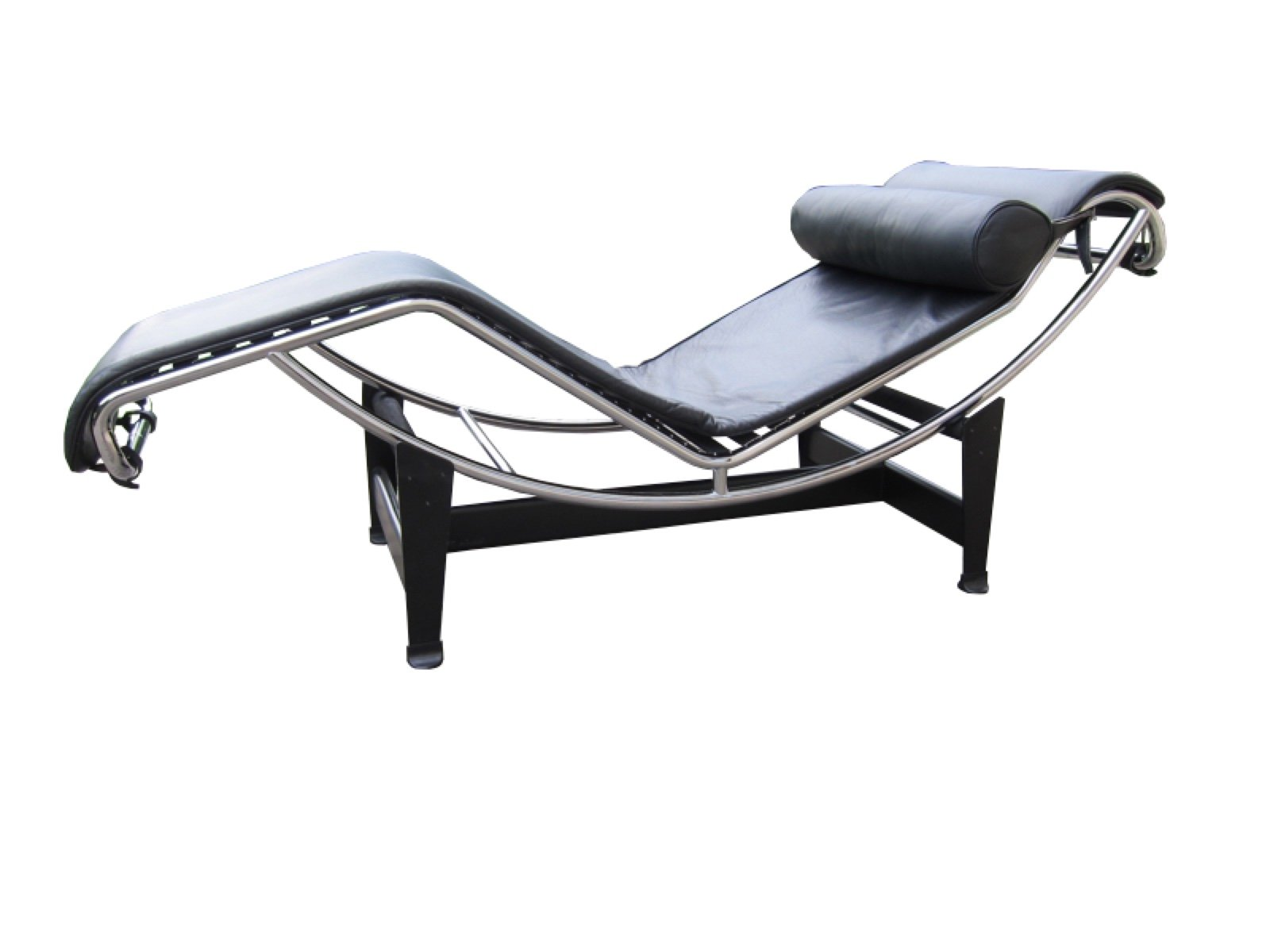 vintage lc4 chaise longue by le corbusier pierre jeanneret charlotte perriand for cassina. Black Bedroom Furniture Sets. Home Design Ideas