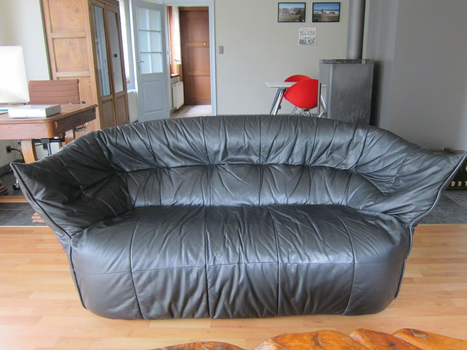 vintage brigantin 2p sofa by michel ducaroy for ligne roset for sale at pamono. Black Bedroom Furniture Sets. Home Design Ideas