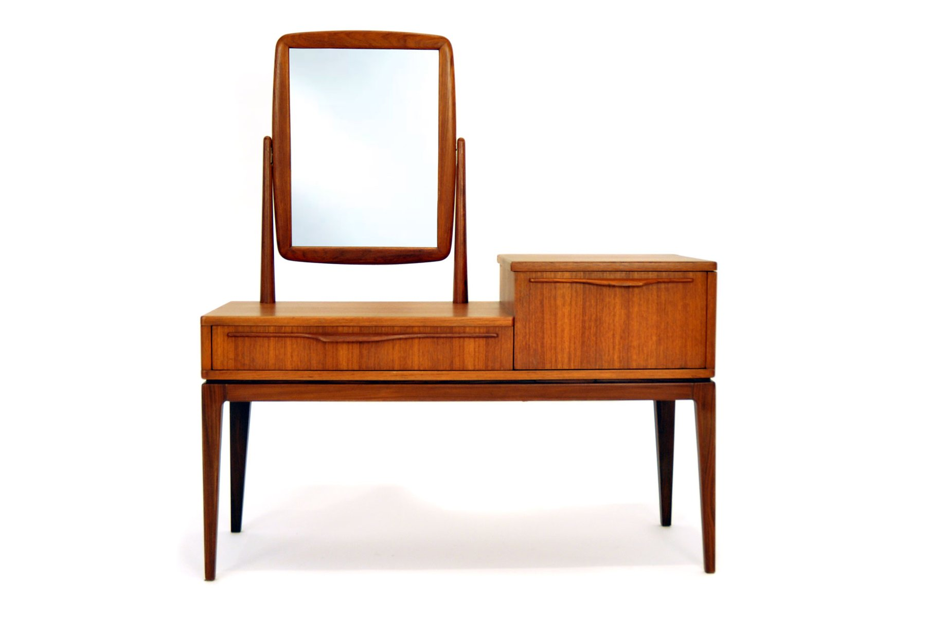 dressing table from ameublement nf meuble 212 1960s for. Black Bedroom Furniture Sets. Home Design Ideas