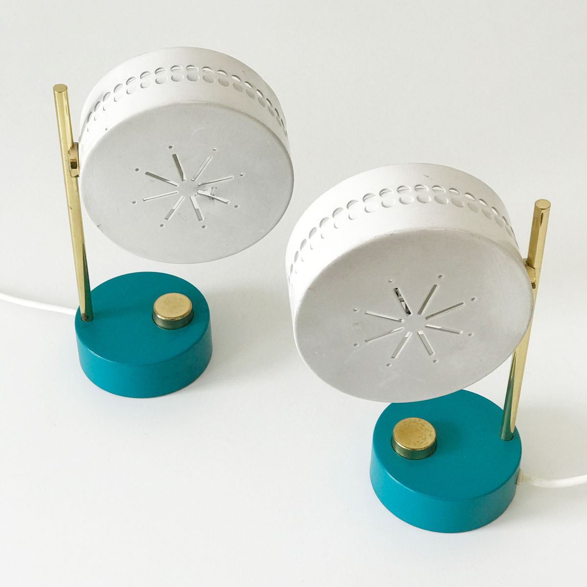 Bedside Table Lamps 1950s For Sale At Pamono