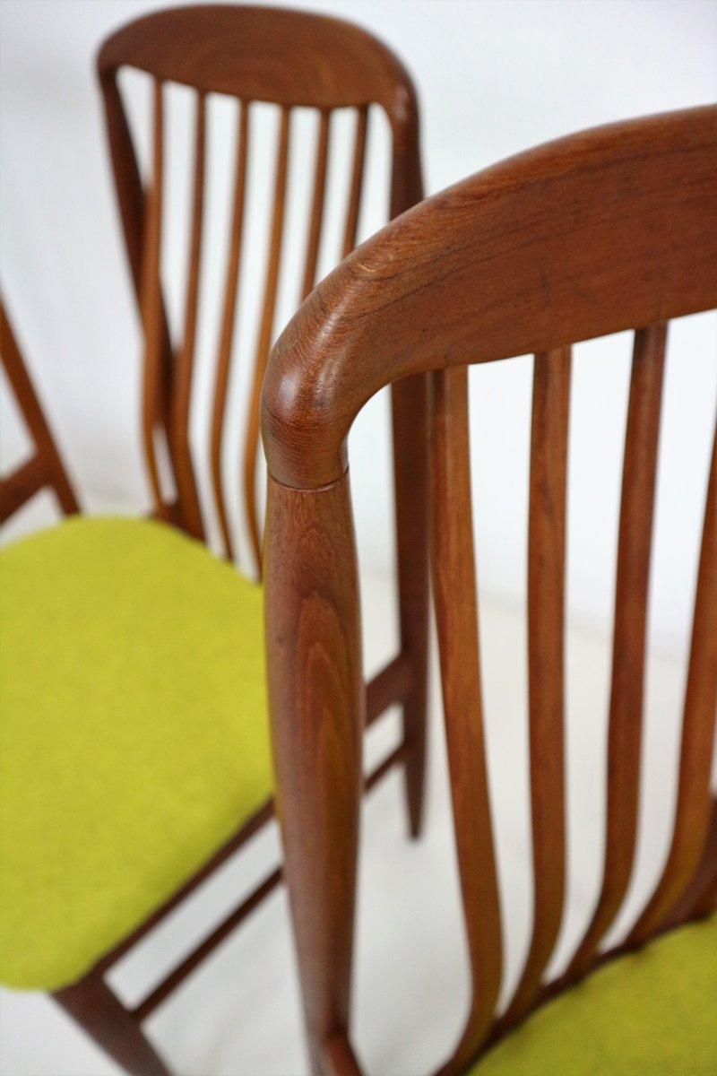 Teak Dining Chairs By Benny Linden 1978 Set Of 4 En