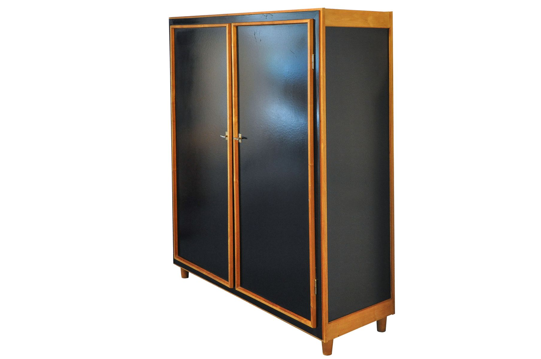 pavatex schrank von willy guhl f r schreinerei guhl 1950er bei pamono kaufen. Black Bedroom Furniture Sets. Home Design Ideas