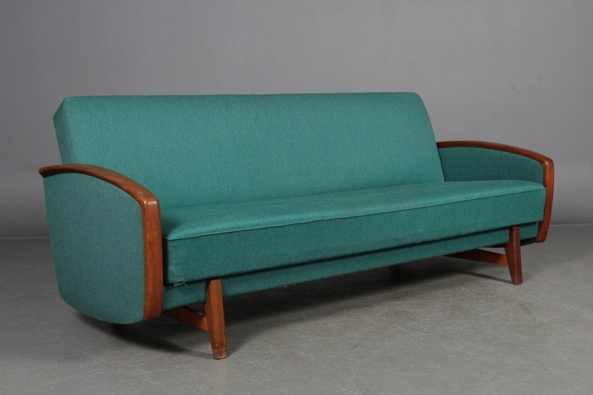 blaues schlafsofa 1960er bei pamono kaufen. Black Bedroom Furniture Sets. Home Design Ideas