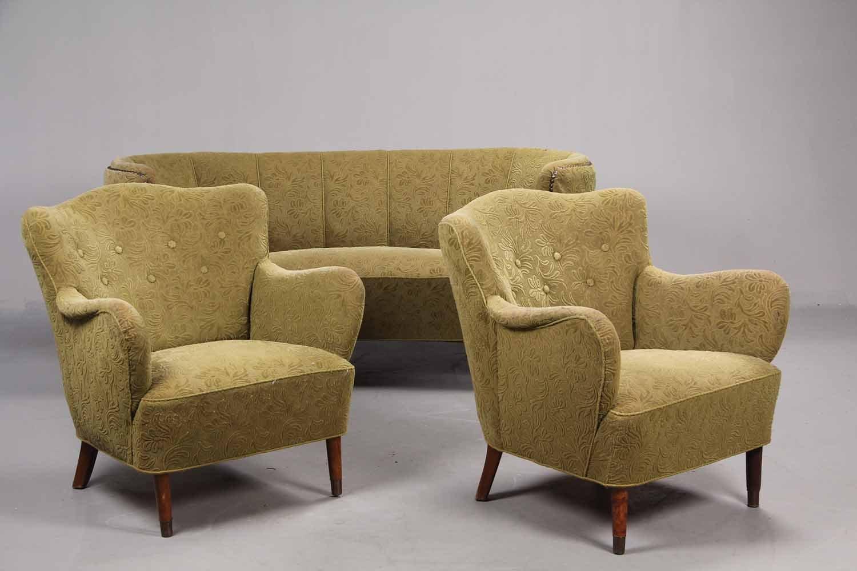 mid century danish living room set for sale at pamono. Black Bedroom Furniture Sets. Home Design Ideas