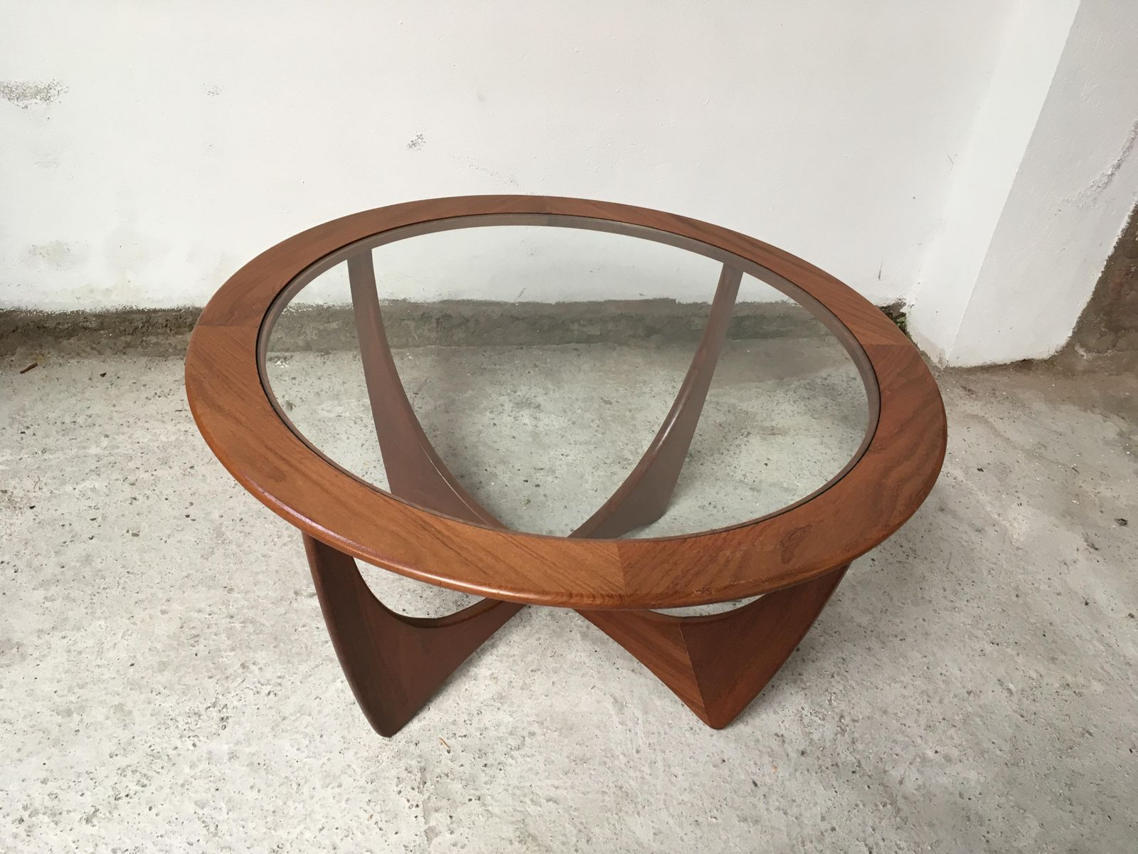 Astro Round Coffee Table by Victor Wilkins for G Plan 1960s for