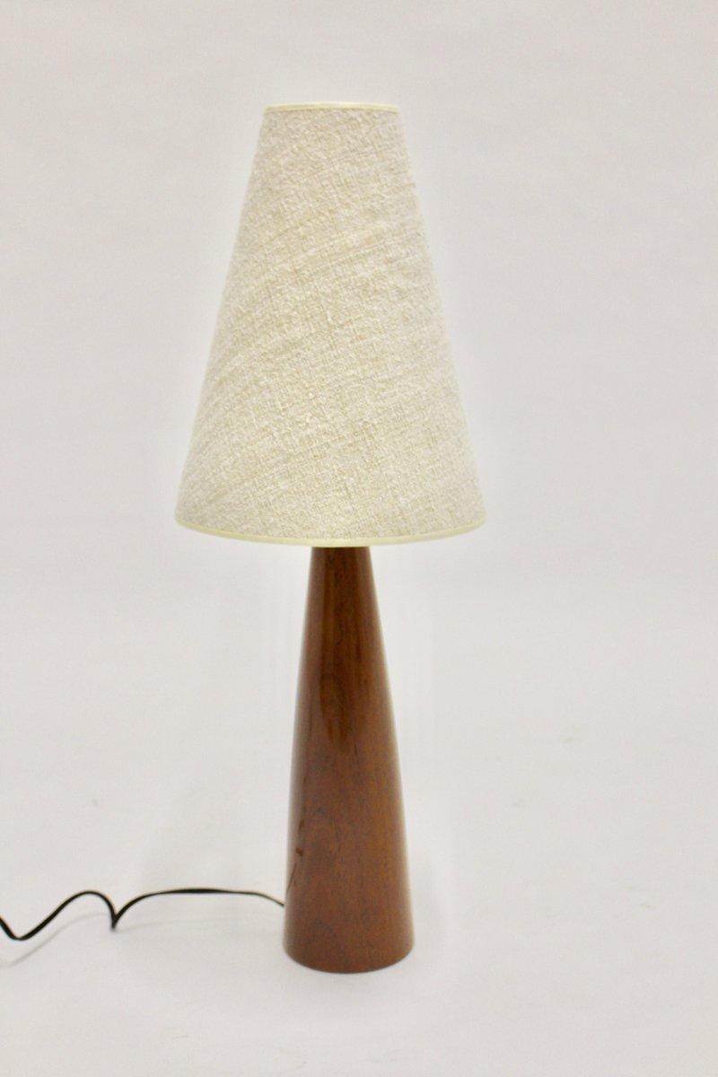 Danish Teak Table Lamp, 1960s