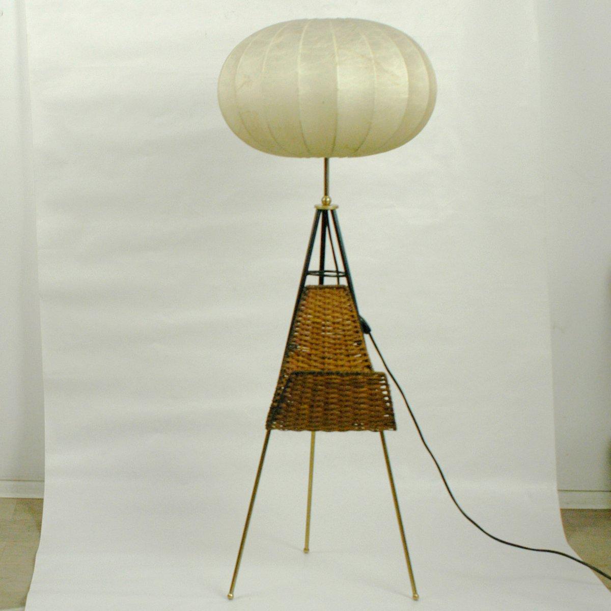 Italian Tripod Floor Lamp 1950s For Sale At Pamono