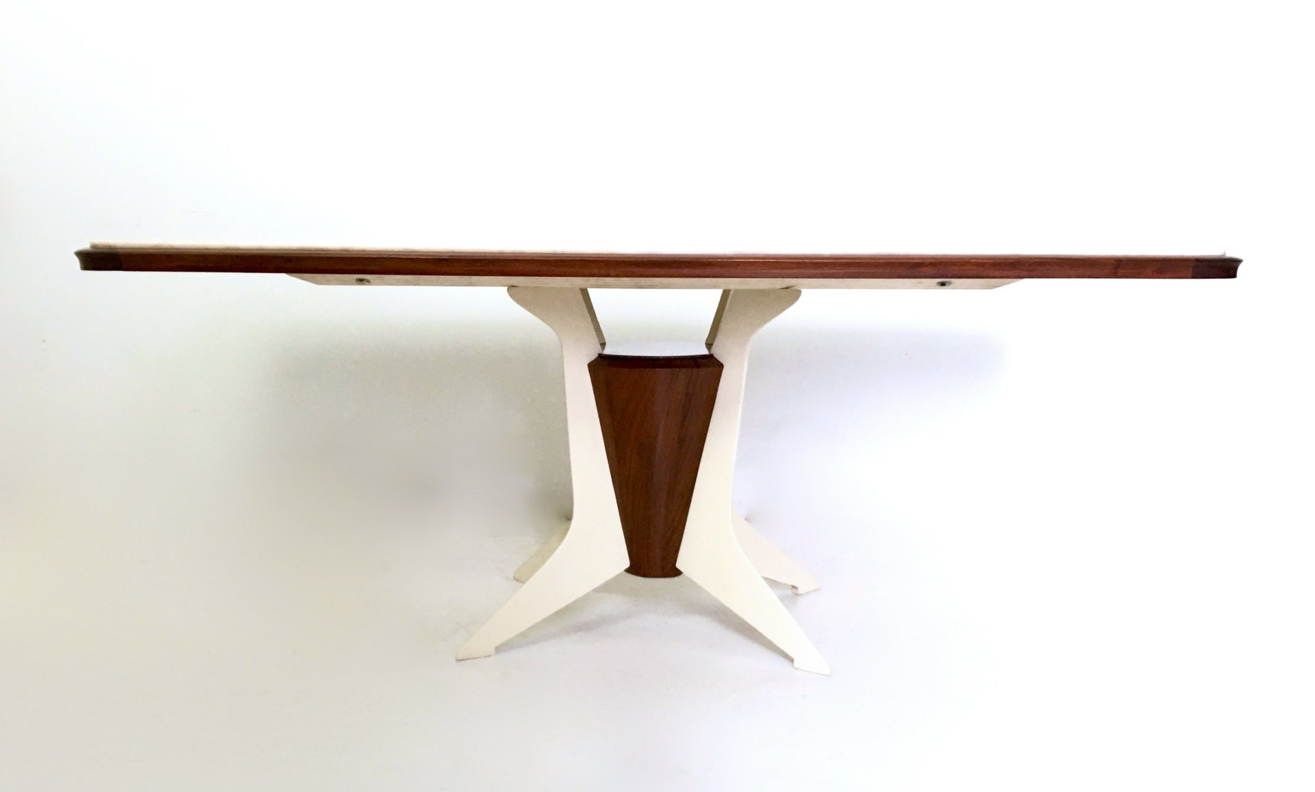 Italian Wooden Dining Table with Carrara Marble Top 1950s  : italian wooden dining table with carrara marble top 1950s 8 from www.pamono.com size 1920 x 1157 jpeg 201kB