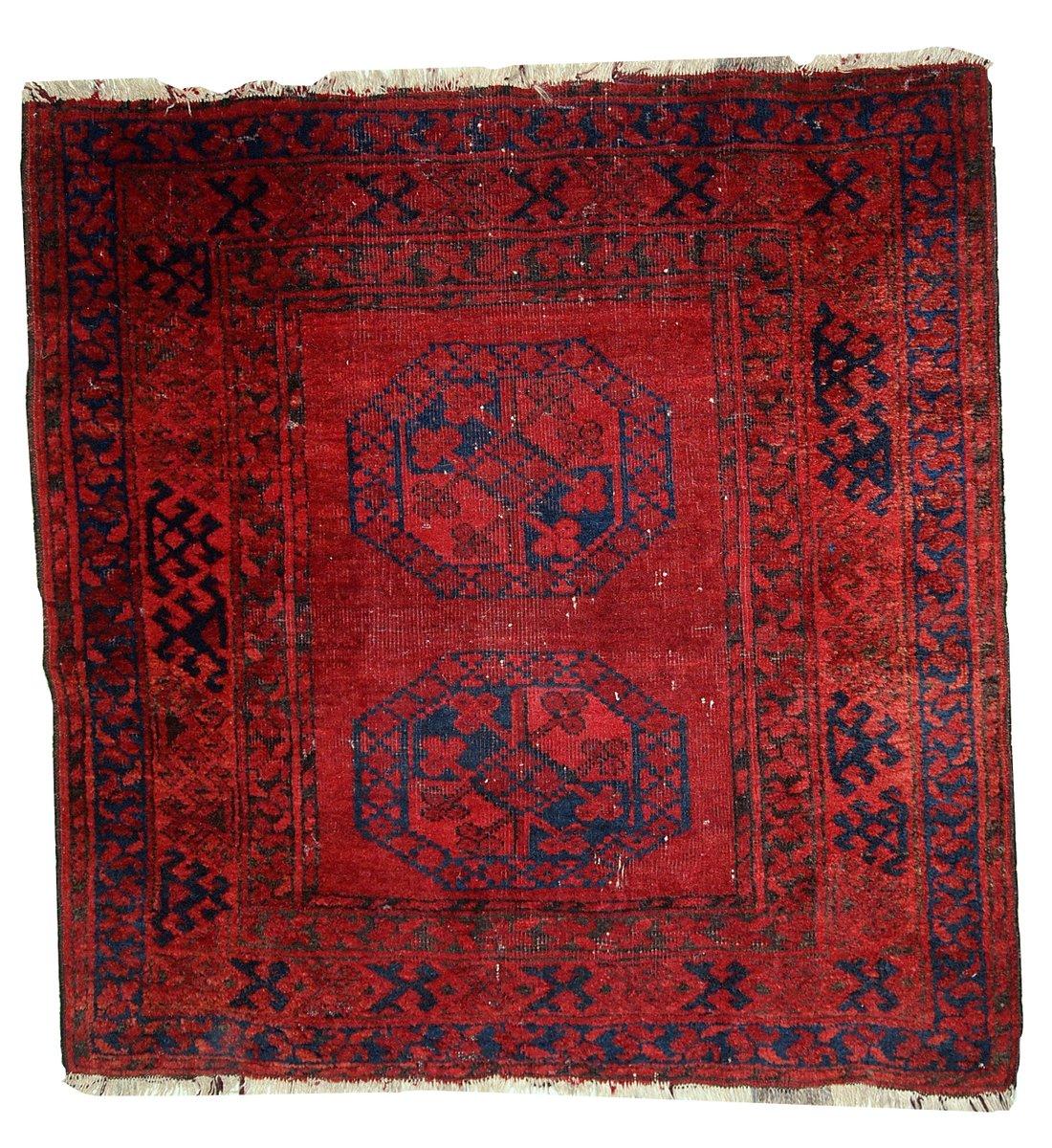 Antique Handmade Afghan Ersari Rug, 1900s For Sale At Pamono