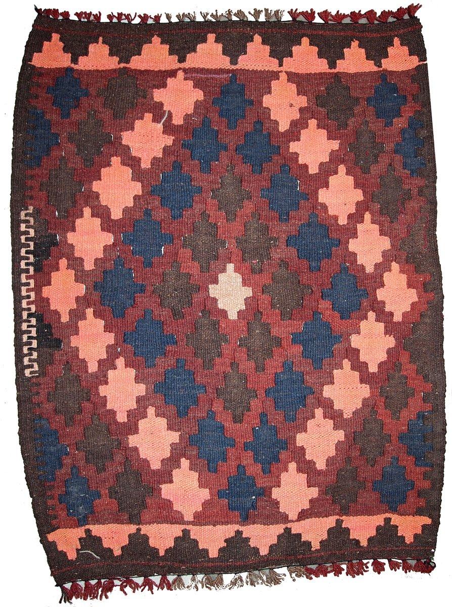 Vintage Handmade Afghan Kilim Rug 1960s for sale at Pamono
