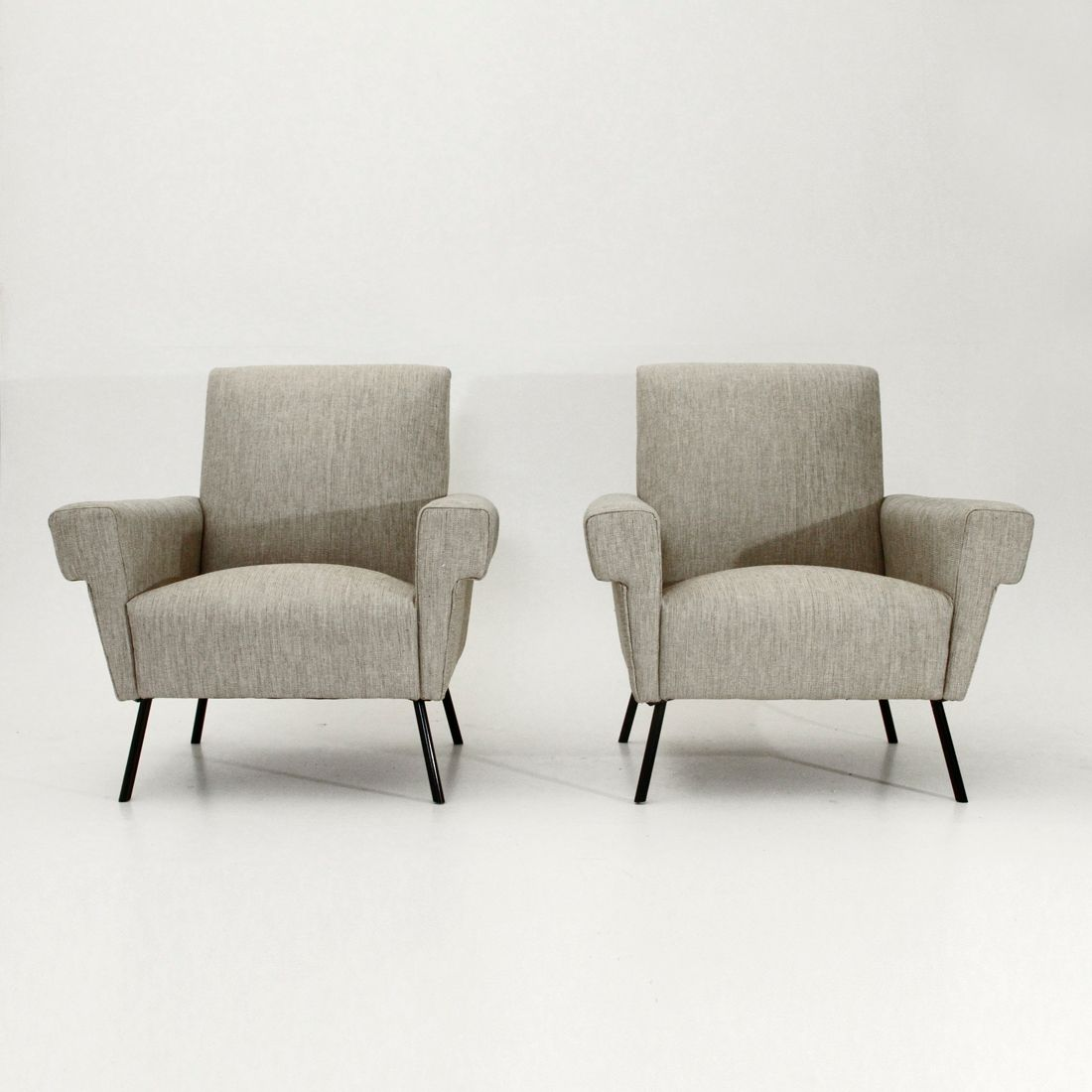 Mid century armchairs 1950s set of 2 for sale at pamono for 2 armchairs for sale