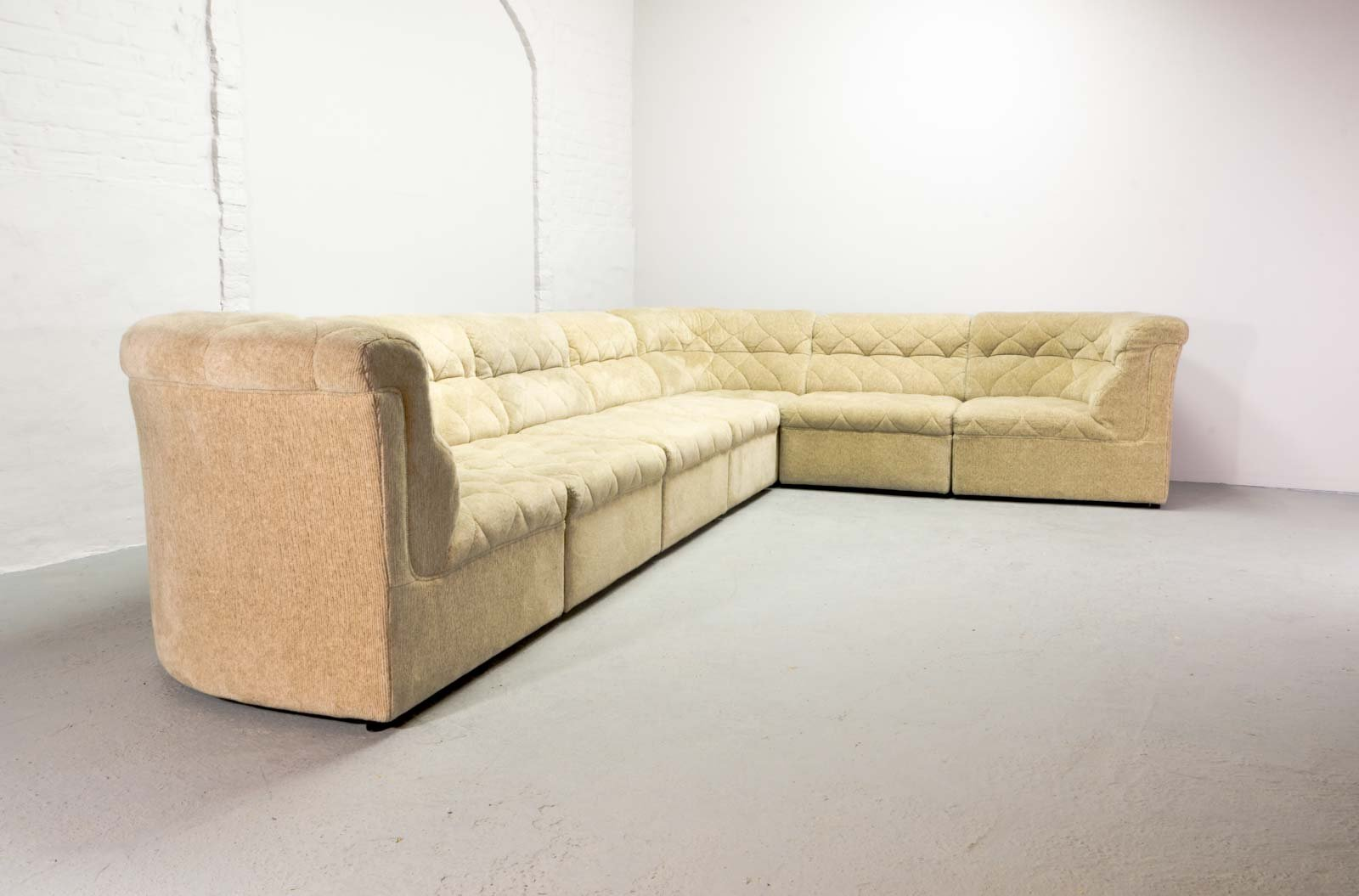 large modular sofa from laauser 1970s