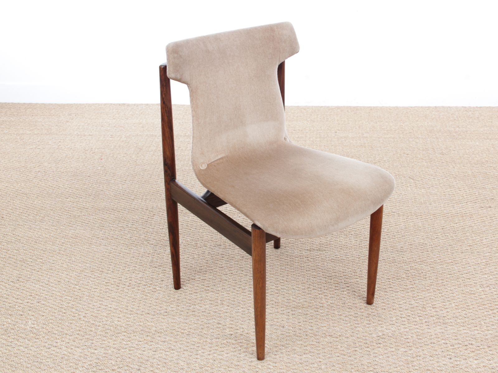 Mid Century IK Rio Rosewood Dining Chairs by Inger Klingenberg for