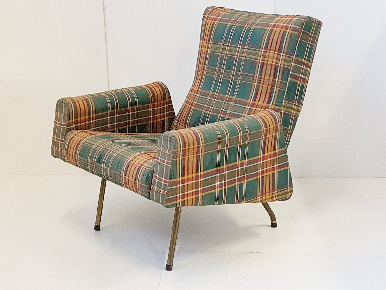 Lounge Chairs by Louis Paolozzi for Zol 1950s Set of 2 for sale