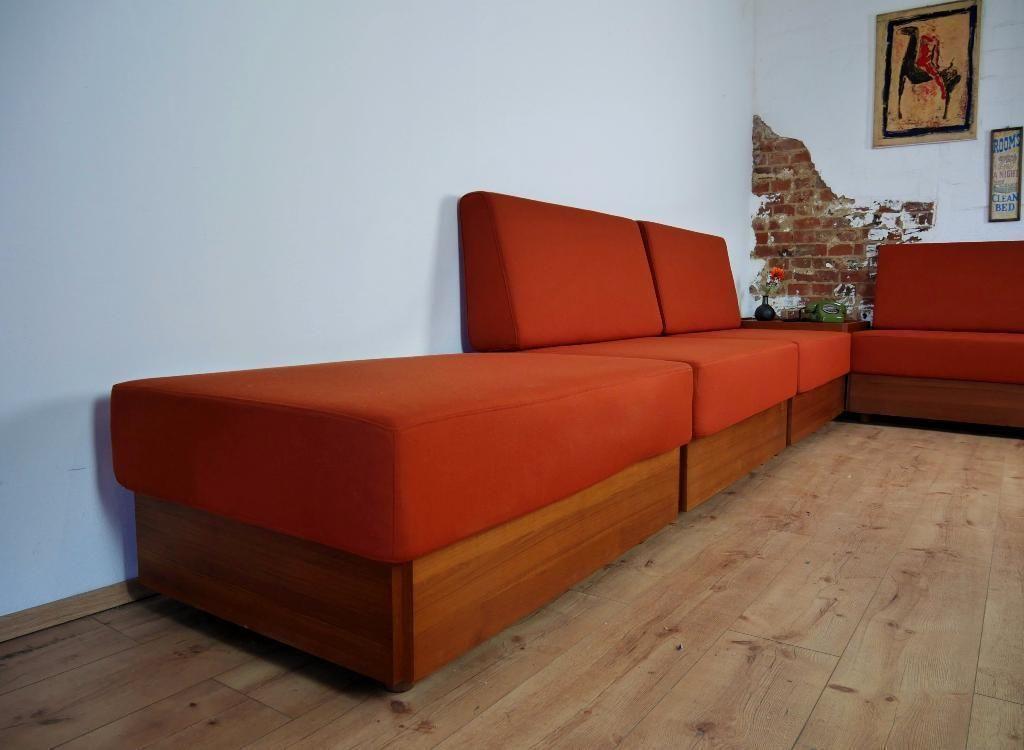 modulares vintage studioline furnier sofa set von verner panton f r france son bei pamono kaufen. Black Bedroom Furniture Sets. Home Design Ideas