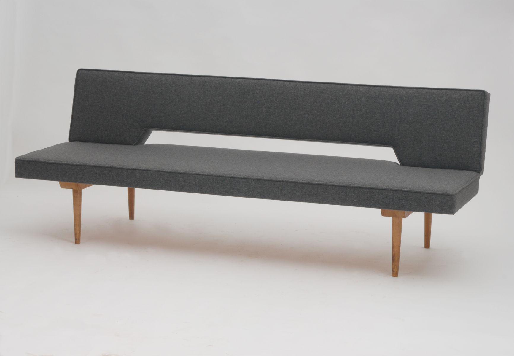 Mid Century Convertible Sofa by Miroslav Navrátil for sale at Pamono