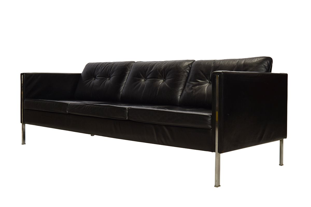 442 sofa von pierre paulin f r artifort 1962 bei pamono. Black Bedroom Furniture Sets. Home Design Ideas
