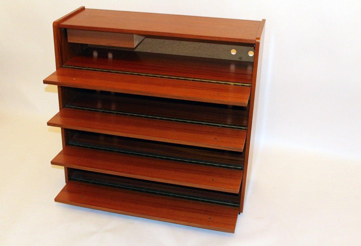 kleiner vintage schrank mit klappt ren und schublade bei. Black Bedroom Furniture Sets. Home Design Ideas