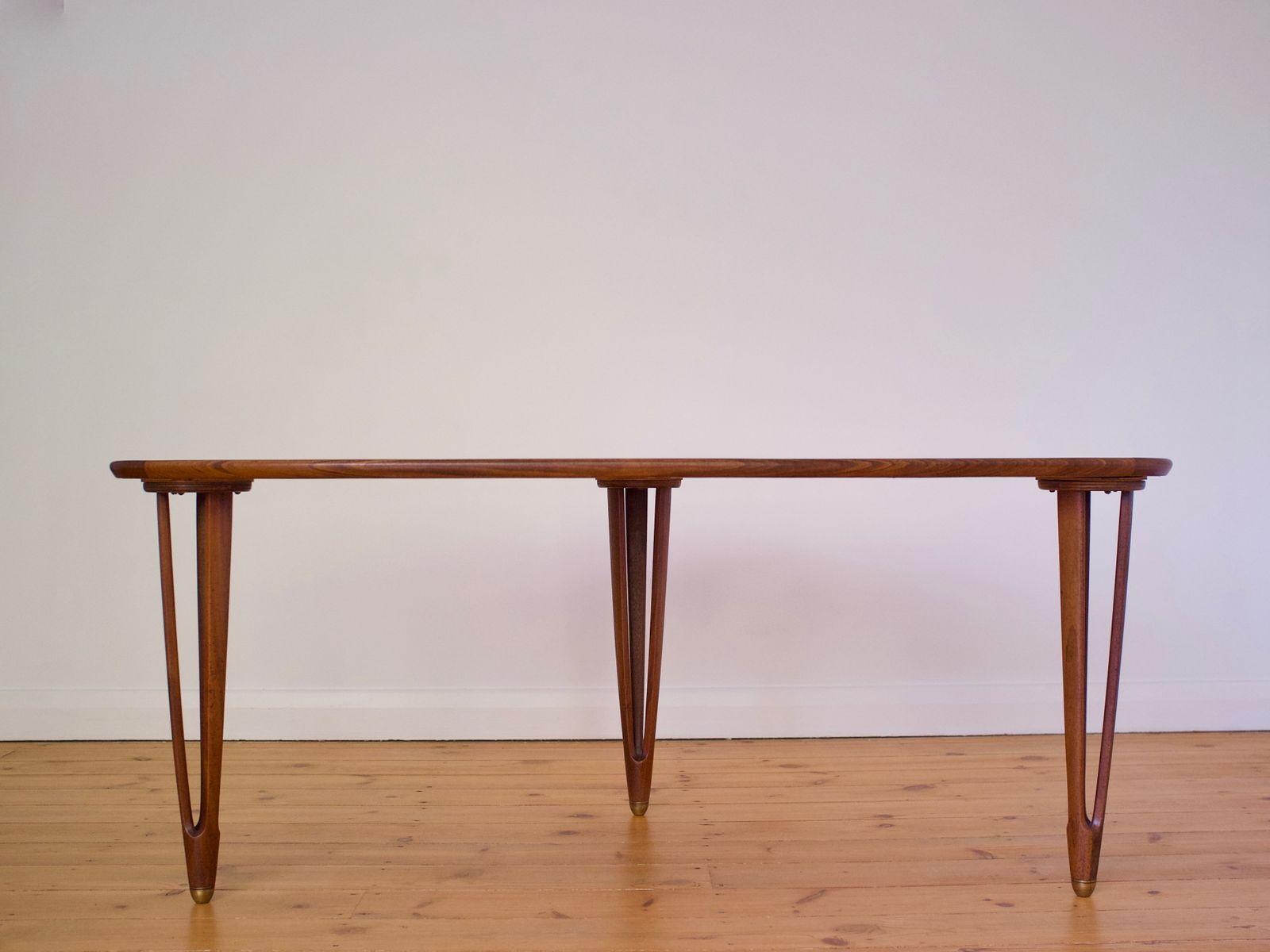 Tavolino da caff di bc mobler danimarca anni 39 60 in for Tavolino anni 60 design