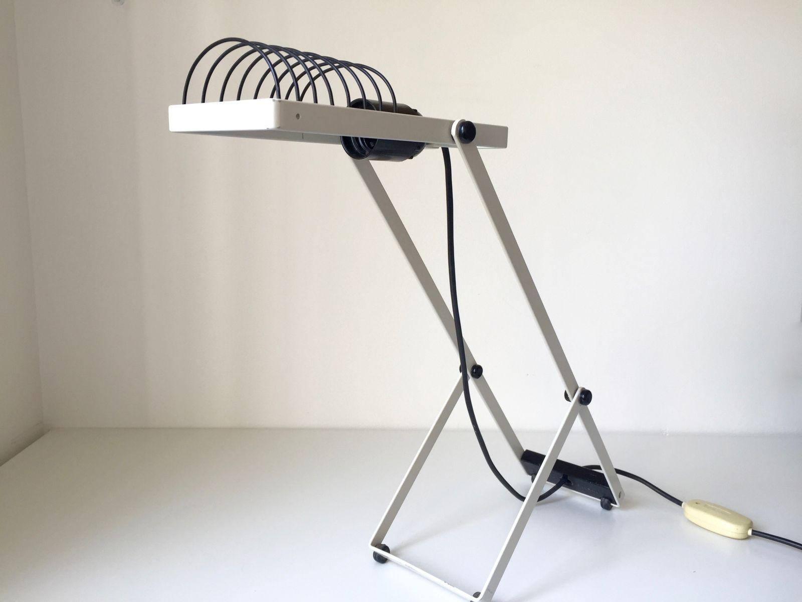 italienische sintesi tavolo schreibtischlampe von ernesto gismondi f r artemide 1976 bei pamono. Black Bedroom Furniture Sets. Home Design Ideas