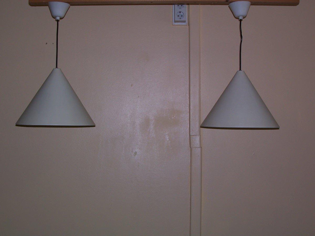 mid century billiard lampen von arne jacobsen f r louis poulsen 2er set bei pamono kaufen. Black Bedroom Furniture Sets. Home Design Ideas