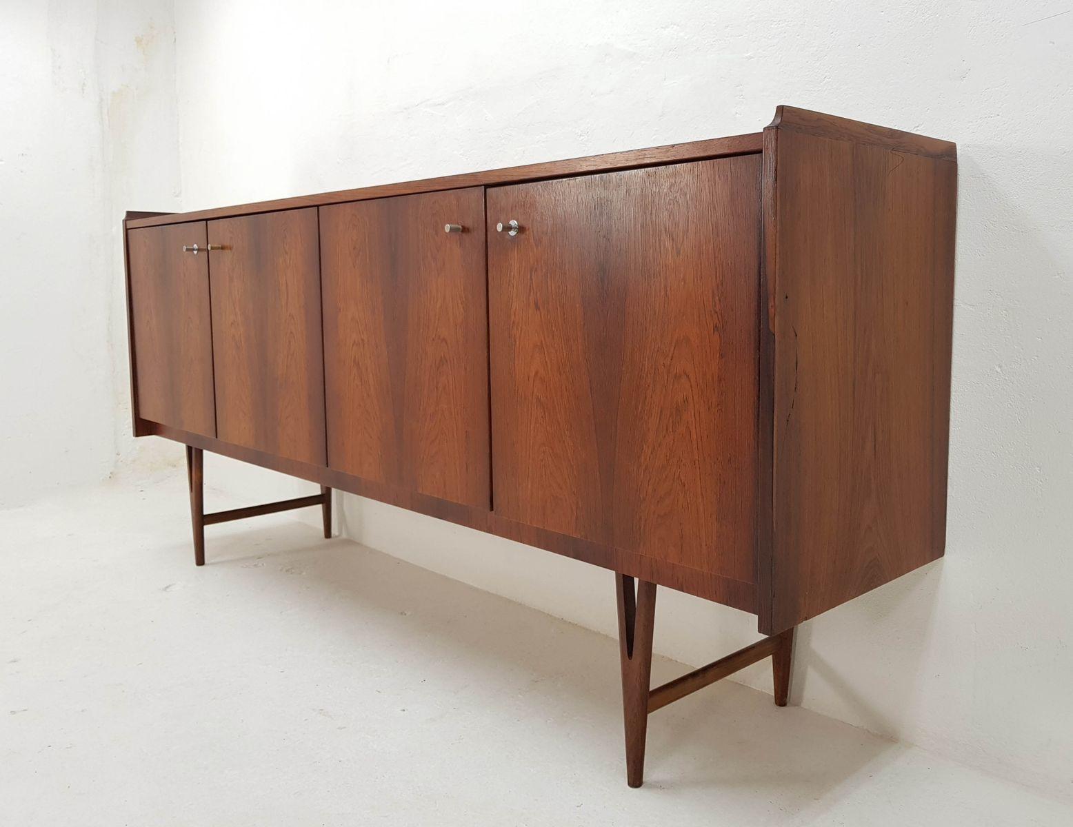 palisander furnier sideboard von fristho 1960er bei. Black Bedroom Furniture Sets. Home Design Ideas