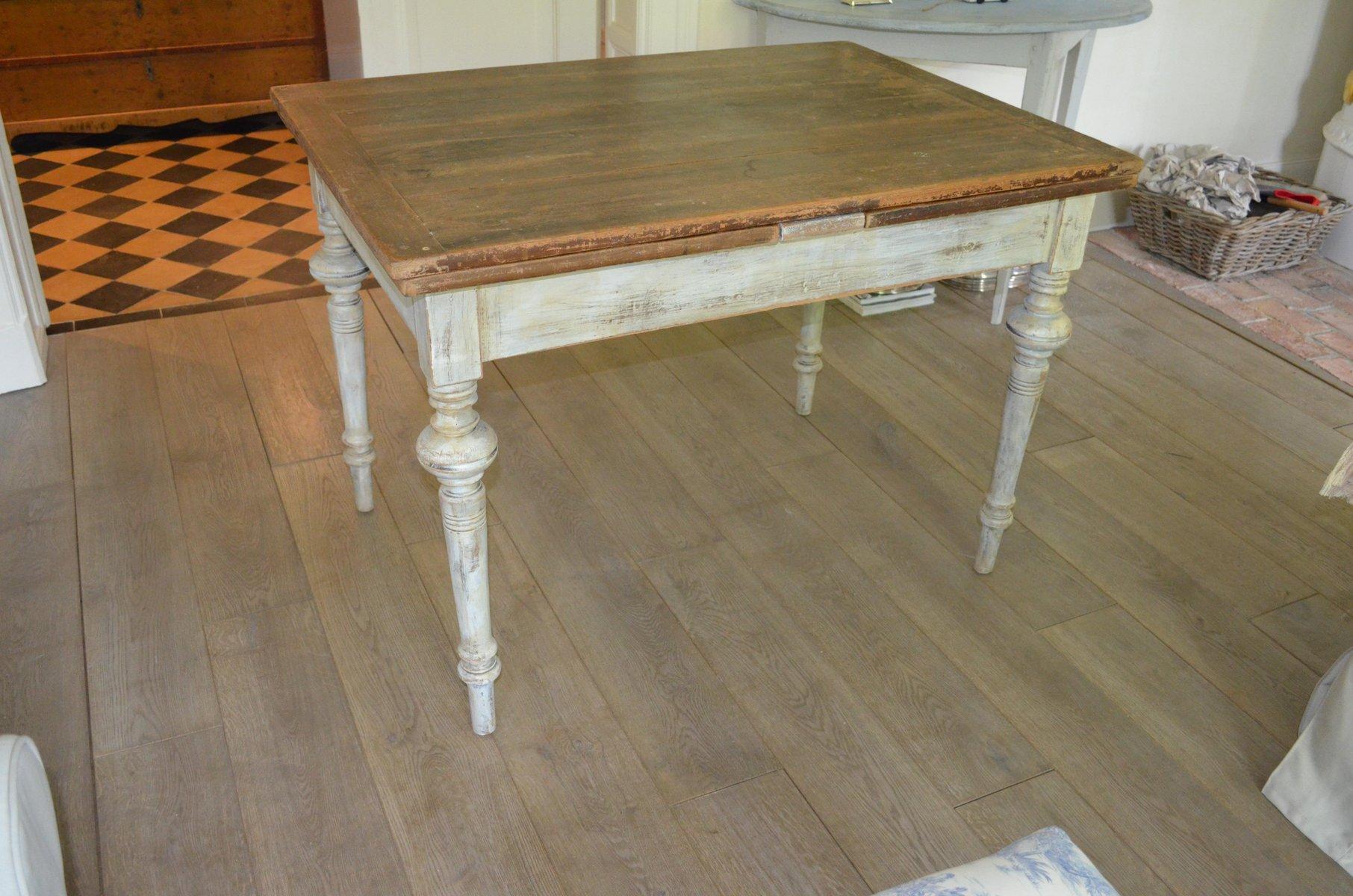 ausziehbarer antiker schwedischer tisch bei pamono kaufen. Black Bedroom Furniture Sets. Home Design Ideas