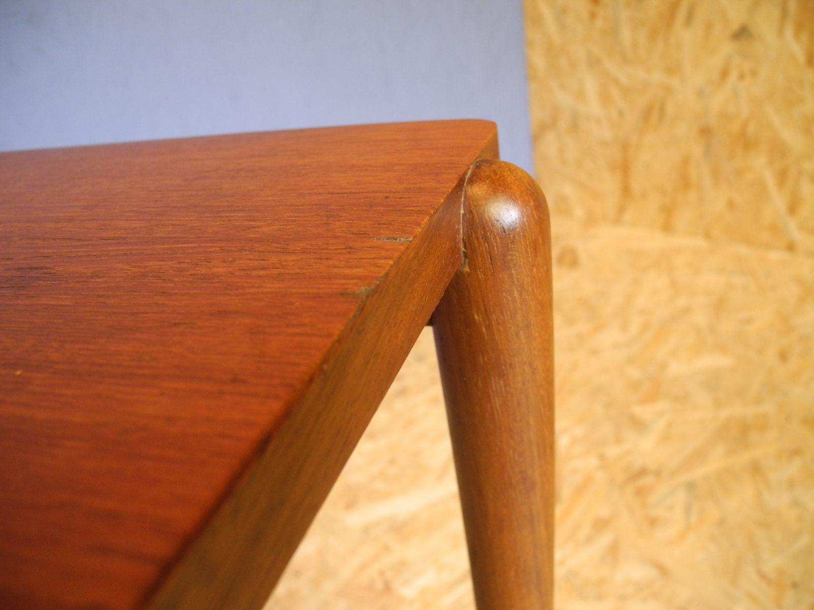 teak beistelltisch 1960er bei pamono kaufen. Black Bedroom Furniture Sets. Home Design Ideas