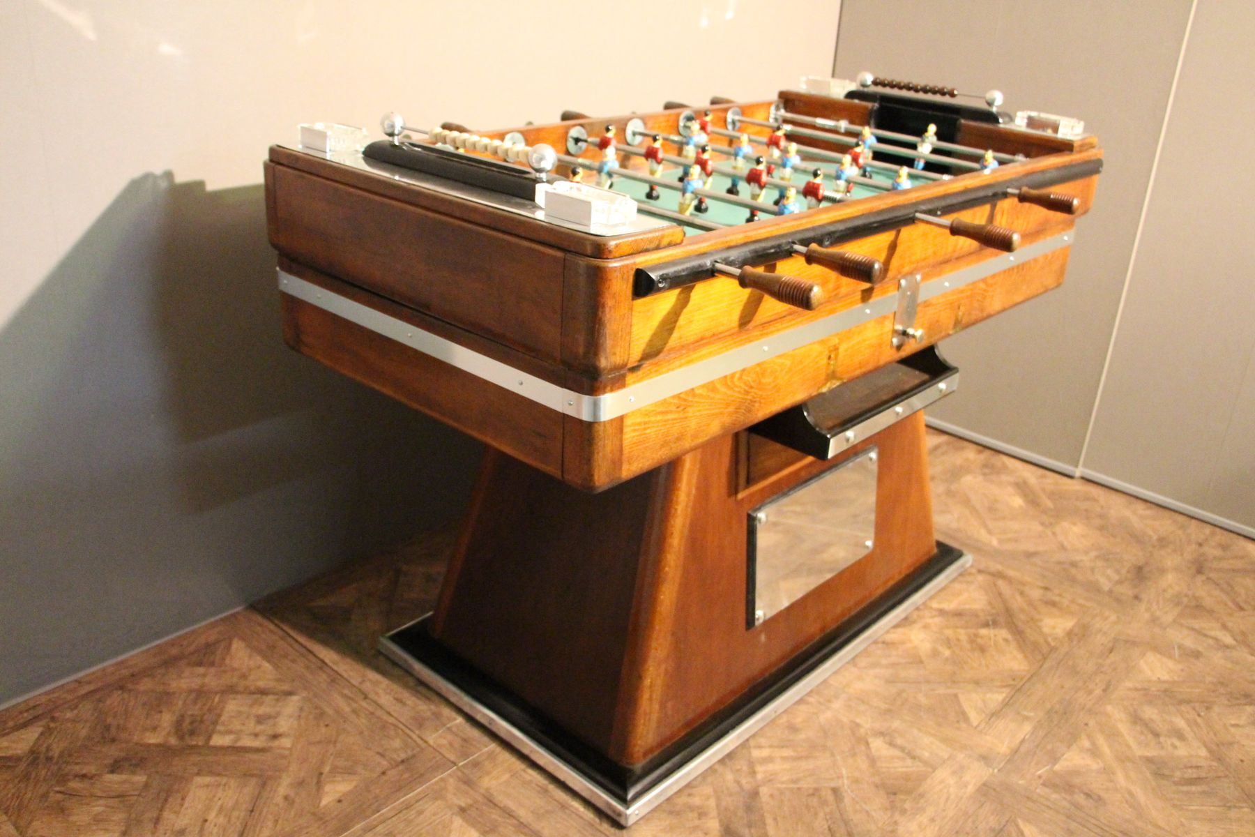 Mid Century French Foosball Table for sale at Pamono