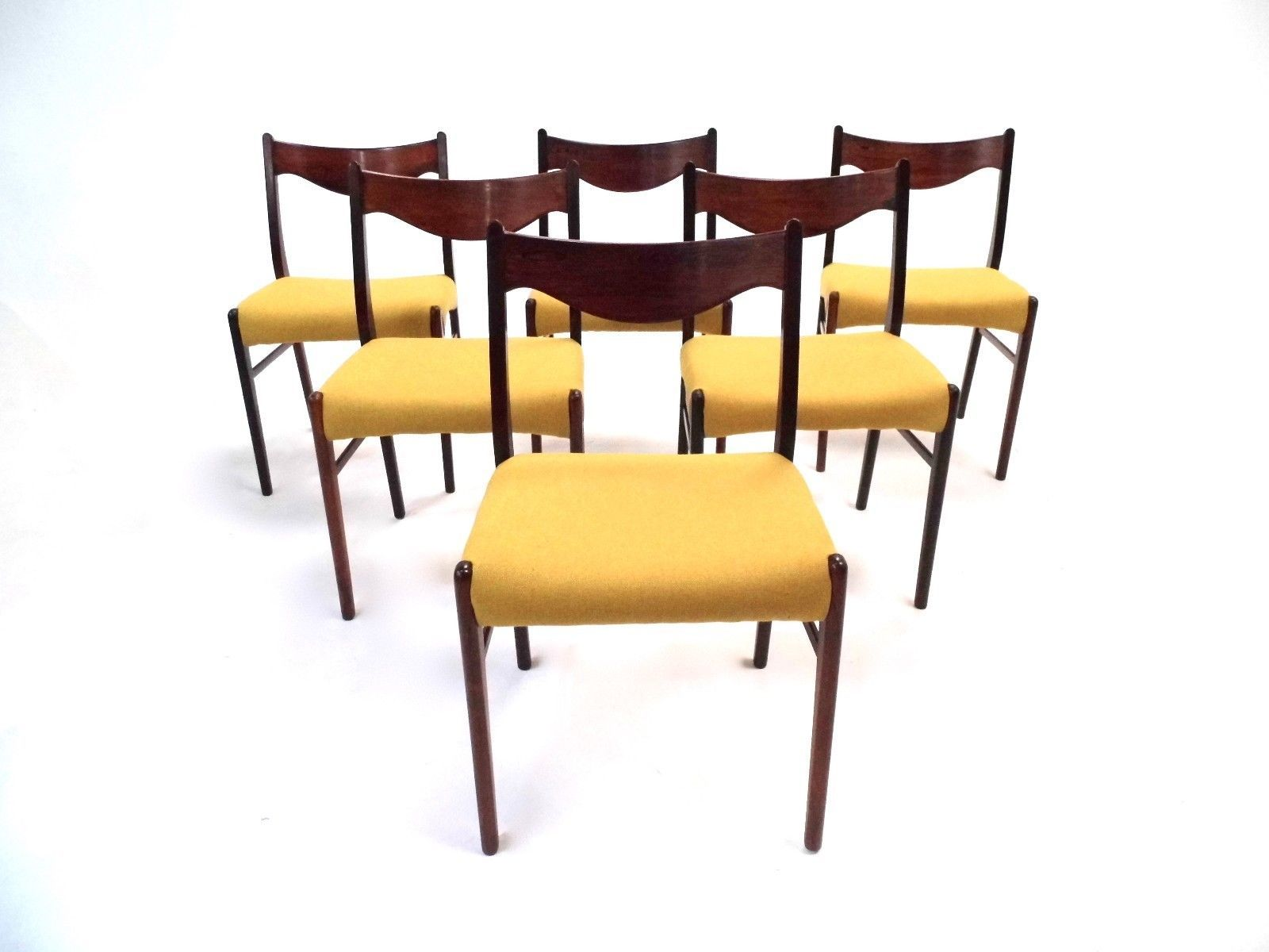Yellow Dining Chair Best 25 Mid Century Dining Chairs Ideas