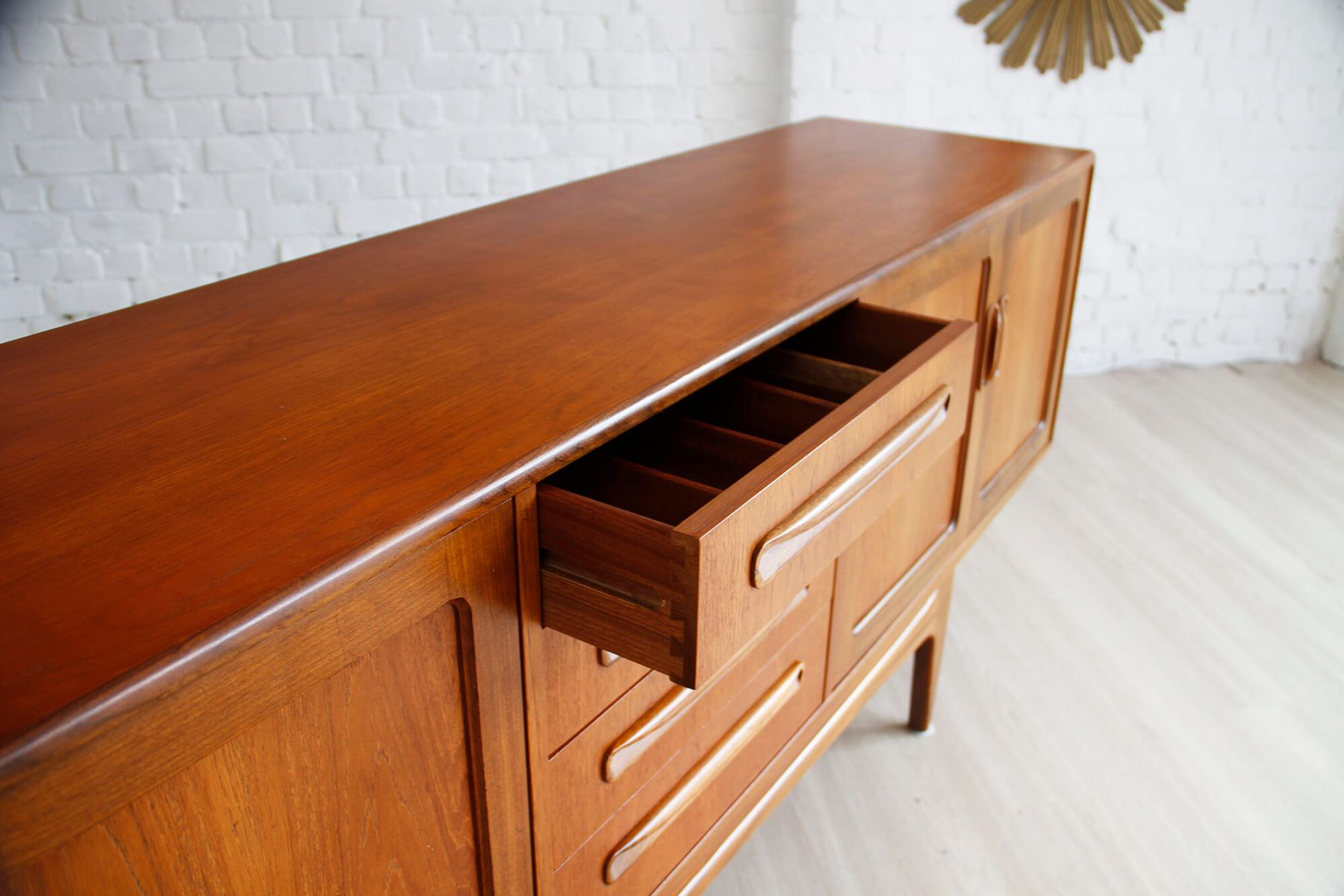 enfilade vintage en teck par ib kofod larsen pour g plan. Black Bedroom Furniture Sets. Home Design Ideas
